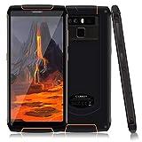 Télephone Portable debloqué incassable, CUBOT King Kong 3 Smartphone 4G étanche 5,5 '' 4Go+64Go, Double SIM, 6000mAh, NFC, IP68...