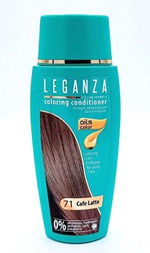 Balsamo Condizionatori Colorazione per Capelli Color 71 Caffè al Latte con 7 Oli Naturale Senza Ammoniaca e Parabeni
