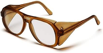 نظارات شمسية من بيراميكس، اطار كرميل مع عدسة شفافة