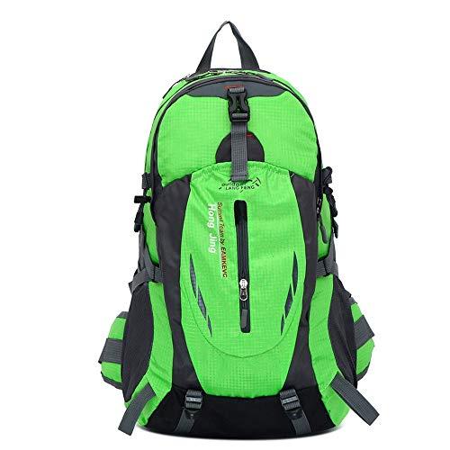 Sac à Dos de Voyage pour Hommes Grande capacité Alpinisme Taille imperméable à la Taille Sac à Dos en Plein air Cadeau Sac, Vert