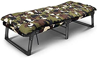 Portable Garden Recliner/Beach Chair/Multi-Function Folding Bed, with Headrest, Oxford Fabric, Office/Garden/Outdoor, Support 200Kg,D
