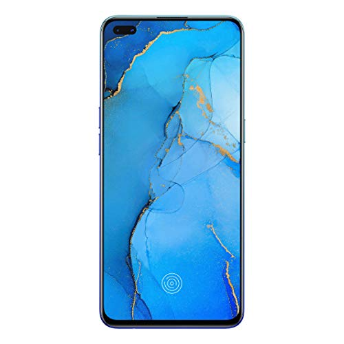 OPPO Reno3 Pro (Auroral Blue, 8GB RAM, 128GB Storage) with No Cost EMI/Additional Exchange Offers