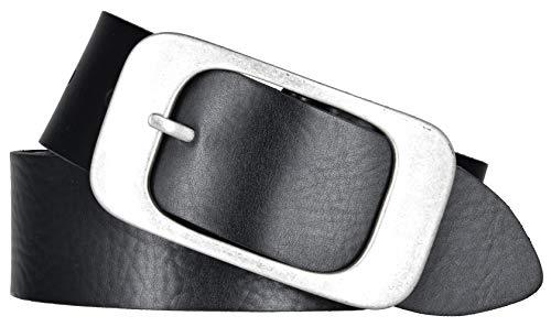 Bernd Götz Damen Leder Gürtel 40 mm schwarz Nappaleder kürzbar (90 cm)