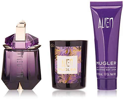 Mugler Mugler alien 30ml edp eau de parfum refillable 50ml body lotion 75g candle