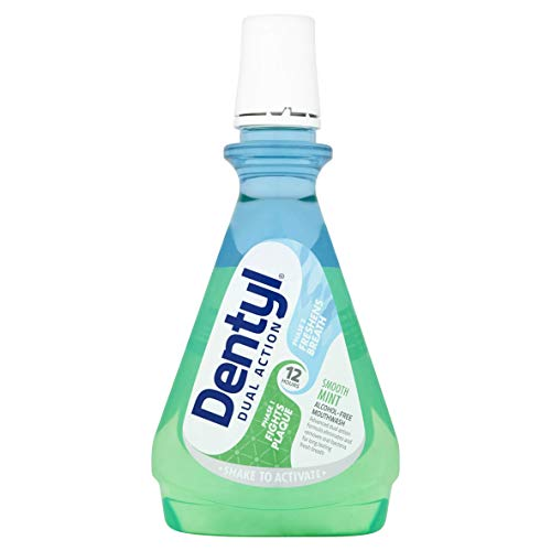 Dentyl Dual Action Smooth Mint Mouthwash, 500 ml