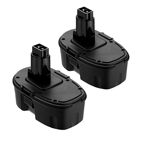 Replace for Dewalt 18V XRP Battery DC9096 DC9099 DC9098 DW9099 DW9098 Compatible Replacement Cordless Power Tools 3600mAh Batteries (2-Packs)