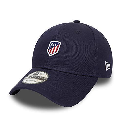 New Era - Gorra ATLÉTICO Madrid Logo Navy 9TWENTY, Azul...