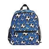 Mini sac à dos d'école, sac à dos pour enfants, sac à livres pour garçons et filles Eamless Soccer