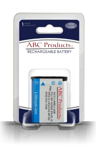 ABC Products® Reemplazo Fuji / Fujifilm NP45 / NP-45 / NP-45A / NP45A Batería recargable para Seleccionar Finepix cámara digital (modelos enumerados a continuación)