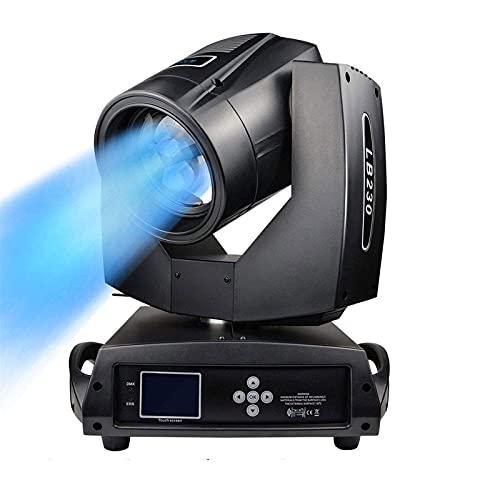 Illuminazione Professionale da palcoscenico Testa Mobile AC100~240V Spot Beam con Zoom 17 Gobos Lights 7R 230W Lens DMX512 Master-Slave DJ Effetti stroboscopici Proiezione per Grandi concerti gra