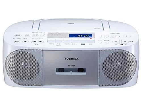 東芝 CDラジカセ TY-CDS7 (S) シルバー
