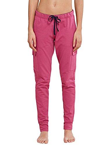 Uncover by Schiesser Damen Uncover sweat pants Schlafanzughose, Rot (beere 512), 34 (Herstellergröße: XS)