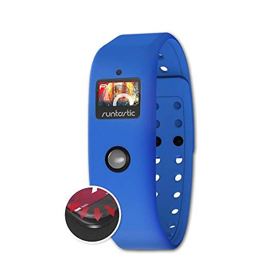 atFoliX Schutzfolie kompatibel mit Runtastic Orbit Folie, entspiegelnde & Flexible FX Bildschirmschutzfolie (3X)