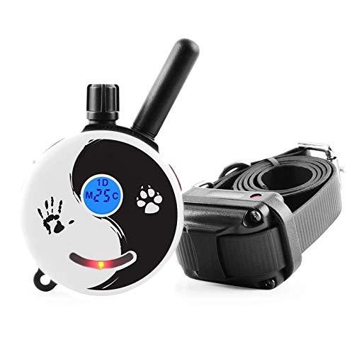 Mini Educator E-Collar ET-300 / ET-302 Dog Training Collar System with Remote - 1/2 Mile Range - WaterProof, Vibration, Tapping, Sensation - includes eOutletDeals Pet Towel (1 Dog System - ET-300 ZEN)