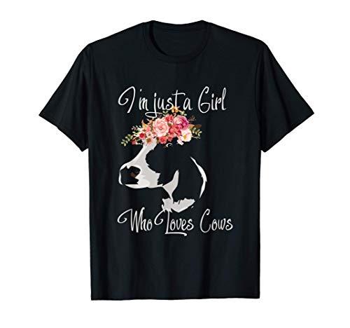 Kühe Geschenk für Kuh Mädchen & Frauen T-Shirt