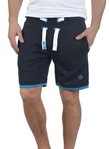 !Solid BenjaminShorts Herren Sweatshorts Kurze Hose Jogginghose Mit Fleece-Innenseite Und Kordel Regular Fit, Größe:M, Farbe:Insignia Blue (1991)