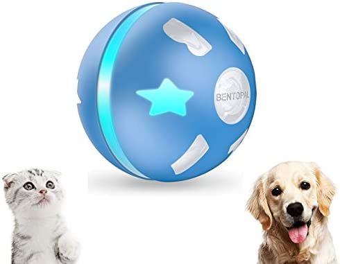 PetDroid Interactive Dog Cats Ball Toys Durable Motion Activated Automatic Rolling Ball Toys product image