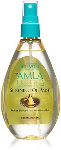 SoftSheen-Carson Optimum Salon Haircare Amla Legend Silkening Oil Mist, 5.1 oz