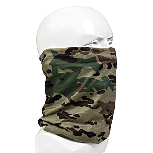 OCP Multifunction Headwear, Updated Color to Match US Military Uniform, Seamless Face Shield, Face Mask for Hunting, Military Neck Gaiter, Athletic Head Wrap, Military Head Wrap, UV Protection