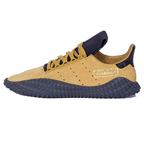 Adidas Kamanda, Zapatillas de Deporte Hombre, Multicolor (Ocrnat/Ocrnat/Carbon 000), 38 2/3 EU