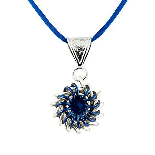 Weave Got Maille Blue Whirlybird Chain Maille...