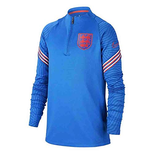 Nike 2020-2021 England Training Drill Top (Blue) - Kids