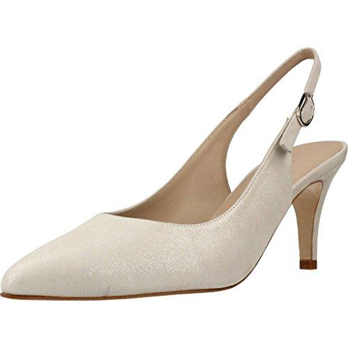 Argenta Zapatos Tacon 1336 Mujer Plateado 37.5 EU