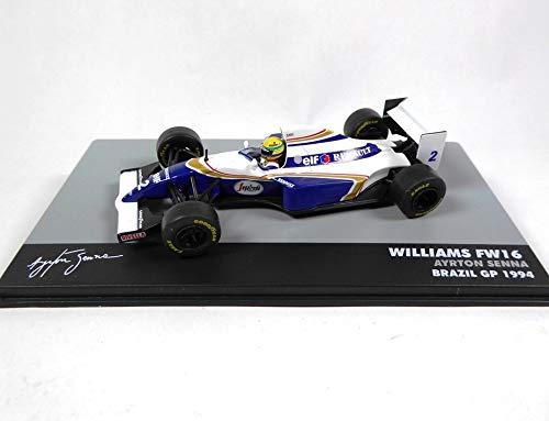 OPO 10 - Ayrton Senna Williams Renault FW16 # 2 - GP von Brasilien Formel 1 - 1994 1:43 Altaya (715)