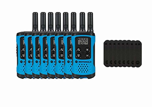 Motorola T100 Two-Way Radios / Walkie Talkies 8-PACK