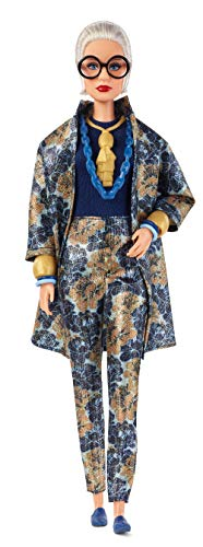 Barbie Collector FWJ28 Collector Styled by Iris Apfel Doll, with Floral Suit and Accessories, Multicoloured