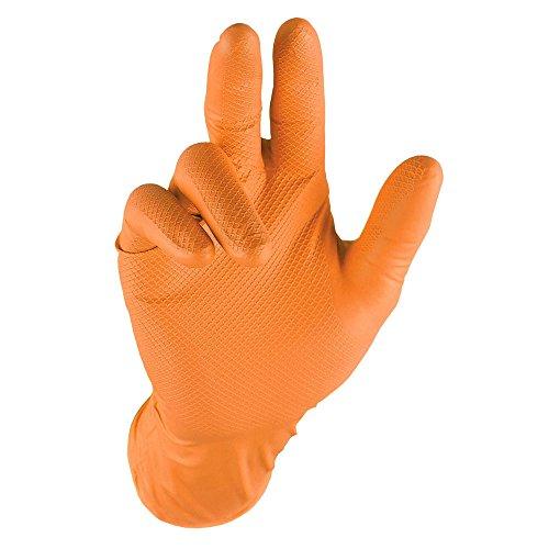Grippaz qgr-o-XL Arbeitshandschuhe, Orange, XL, Stück von 50