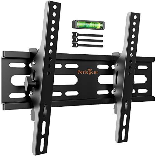 Soporte de TV Perlegear - Soporte de TV en Pared Inclinable para Televisores de 13 a 42 Pulgadas con Carga de 45 kg, VESA máx. De 300 x 300 mm