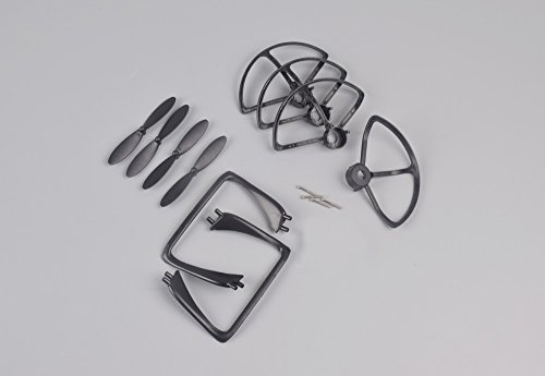 YouCute Spare Part Kit for DM007 SPY Rc Quadcopter Drone Black Blade Landing Gear Protecting Frame