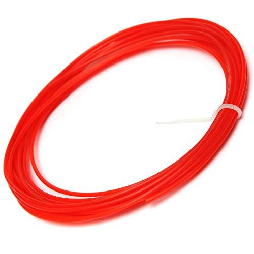 LICHONGUI 5 Meter 1.75MM PLA 3D Printer Filament for Mendel Printrbot Reprap Prusa (Color : Red)