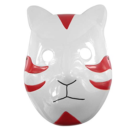 Naruto Anbu Fox Red Maske
