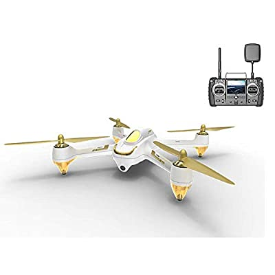 HUBSAN H501S X4 Brushless Drone GPS 1080P HD Camera 5.8Ghz FPV 2.4Ghz RC Quadcopter With H906A Transmitter White Advanced Version