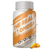 Bigmuscles Nutrition Omega-3 Fish Oil Triple Strength | 2 months supply | 1000mg (550mg EPA; 350mg...