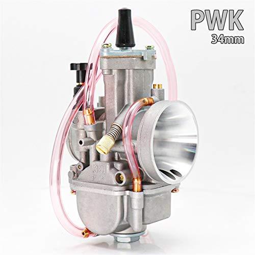 Partes de motocicleta Universal for PWK 21 24 26 28 30 32 34 2T 4T for Keihin Koso PWK carburador con Power Jet for Moto 75cc-250cc Fácil de reemplazar (Color : 34mm)