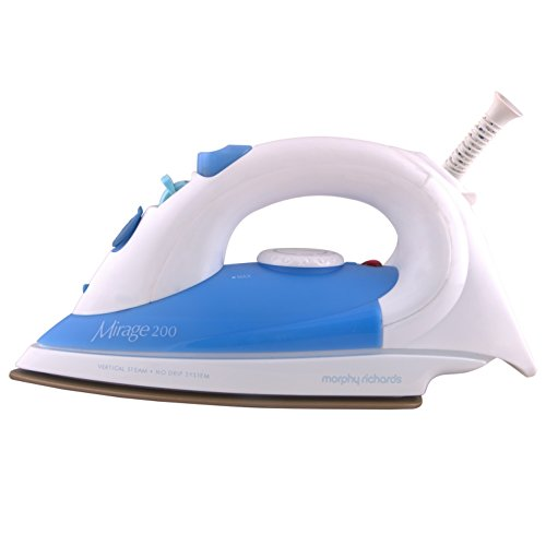 Morphy Richards Mirage 200 1400-Watt Steam Iron (Blue and White)