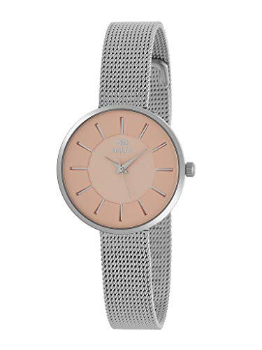 Reloj Marea Analógico Mujer B41246/3 Extraplano, con Armis de Acero y Esfera Melocotón