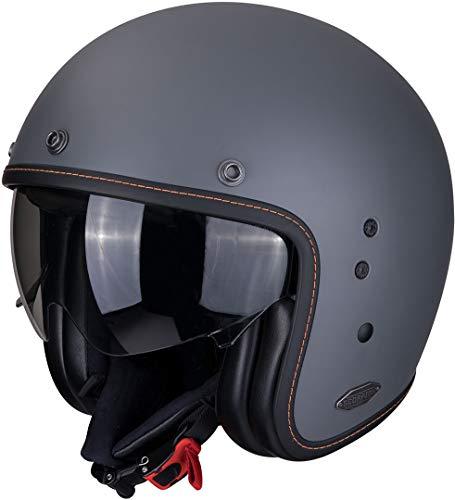 Scorpion Motorradhelm BELFAST Matt Cement Grey, Grau, L