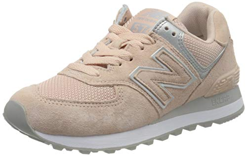 New Balance Damen 574v2 Sneaker, Grau (Grey Eq), 39 EU