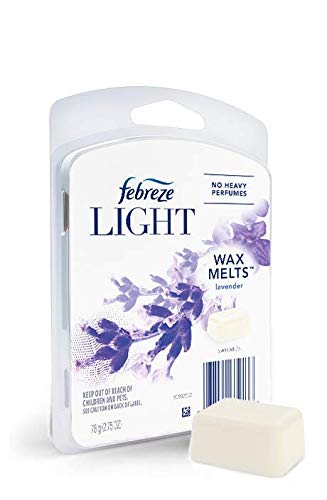 Febreze Light Wax Melts, Lavender Scent, (1 count, 2.75 oz)
