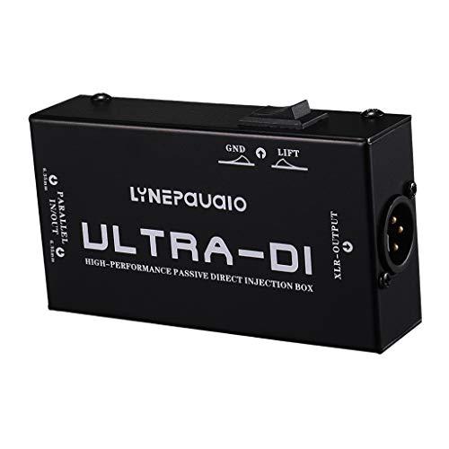 kesoto Universelle Stereo DI-Box Symmetrierbox, Passiv