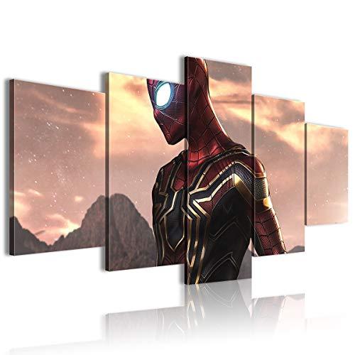 CNLB - Poster da parete con 5 pannelli, motivo: Avengers Infinity War Conference decorazione 150 x 80 cm, senza cornice