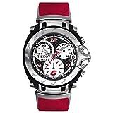 Reloj tissot t-Race quarzo Correa Caucho Rojo, Serie Limitada, con Estuche chapas Dorso del Reloj, circuitos del Mundial Moto GP