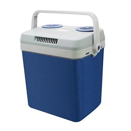 JCOCO Petit congélateur de réfrigérateur de voiture de réfrigérateur de voiture de réfrigérateur de voiture de réfrigérateur de la voiture 22V 220V de voiture 25L (Couleur : Bleu)