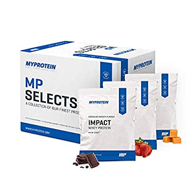 MyProtein Selects Whey Protein Sachet Tester Box, Sample Box
