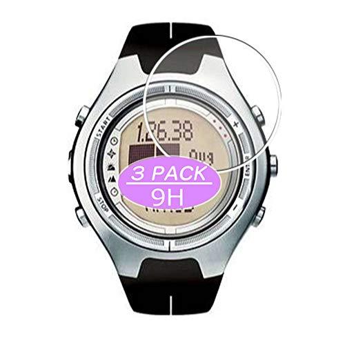 VacFun 3 Pezzi Vetro Temperato Pellicola Protettiva, compatibile con Suunto X6HRM X6 HRM, Vetro Protezioni Schermo Screen Protector (Non Cover Custodia)