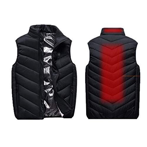 Snelle verwarming verwarmd vest voor kinderen, USB-elektrische jack voor winter, outdoor, sporten, skiën, paardrijden, vissen, camping, veiligheid, gering gewicht.